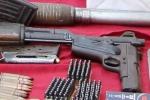 Kho súng, lựu đạn của trùm ma túy Hải Dương