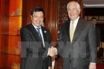 Phó Thủ tướng, Bộ trưởng Phạm Bình Minh gặp Ngoại trưởng Mỹ Rex Tillerson