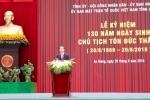 Chủ tịch nước: Nguyện phấn đấu thực hiện mong muốn của Bác Hồ, Bác Tôn