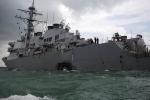 Chuyên gia Nga: Chiến hạm Mỹ gặp nạn do phớt lờ các nguyên tắc hàng hải sống còn