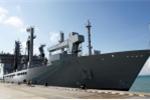 Tàu chiến Ấn độ cập cảng Tiên Sa, Đà Nẵng của Việt Nam