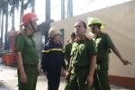 Gần 200 cảnh sát vẫn tiếp tục chữa cháy trong khu công nghiệp ở Cần Thơ