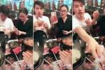 Tuyệt chiêu đi ăn không phải trả tiền khiến dân mạng cười 'té ghế'