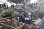 Video, ảnh: Cầu đường biến dạng đến không nhận ra nổi sau thảm họa động đất Indonesia