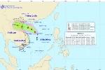 Áp thấp nhiệt đới mạnh lên thành cơn bão số 2, các tỉnh miền Bắc mưa lớn