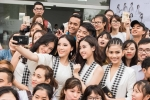 Kỳ Duyên, Đỗ Mỹ Linh bị sinh viên Tây Nguyên vây kín