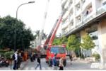 Ảnh: Hiện trường cháy chung cư cao cấp Golden Westlake ở Hà Nội