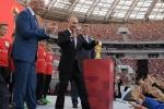 Bế mạc World Cup 2018: Tổng thống Putin đón khách mời đặc biệt từ Triều Tiên