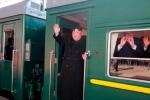 Ông Kim Jong Un lên tàu bọc thép về nước, rút ngắn thời gian thăm Nga
