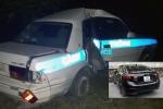 Khởi tố tài xế ô tô chở ma túy, cố tình chèn ép khiến xe cảnh sát gặp nạn ở Quảng Ninh