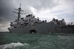 Công bố nguyên nhân tàu khu trục Mỹ va chạm khiến 10 thủy thủ thiệt mạng năm 2017