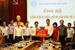 Bảo hiểm Xã hội Việt Nam ủng hộ đồng bào bị bão lũ