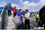 Ảnh: Đánh bại Philippines, tuyển Việt Nam hân hoan trở về Hà Nội