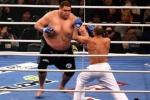 Video: Võ sỹ Sumo khổng lồ thảm bại trước đối thủ nhỏ bé