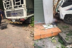 Xe tải va chạm với người đi xe máy rồi tông chết một phụ nữ chờ xe buýt ở Thái Nguyên