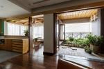 Căn hộ tầng 12 xinh xắn không thua kém biệt thự nhà vườn ở Hà Nội