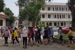 Cháy chợ Sóc Sơn, Hà Nội: Tiểu thương bức xúc vì bình cứu hỏa không hoạt động