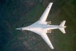 Video: Phi cơ ném bom chiến lược Tu-160 Blackjack của Nga thị uy sức mạnh