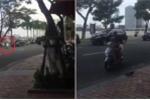 Clip: Nữ 'ninja Lead' tạt đầu dàn xe đặc chủng phục vụ APEC ở Đà Nẵng