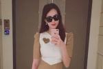 Hoa hậu Đặng Thu Thảo khoe vóc dáng hoàn hảo sau 1 tháng sinh con