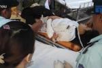 Clip: Đưa nạn nhân vụ lật xe khách trên đèo Hải Vân vào BV Đà Nẵng