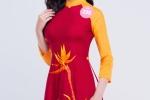 Thí sinh Hoa hậu Việt Nam 2018 miền Bắc dịu dàng trong tà áo dài