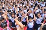 Ngày khai giảng ở trường đông học sinh nhất TP.HCM
