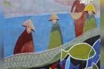 Đà Nẵng 'hô biến' 1.300 mét bờ kè biển thành tranh gốm