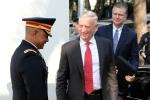 Những hình ảnh đầu tiên của Bộ trưởng Quốc phòng Mỹ James Mattis ở Việt Nam