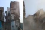 Clip: Hàng ngàn con chuột đục khoét móng, nhà 3 tầng đổ sập trong vài giây
