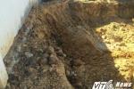 Lại tìm thấy chất thải của Formosa được chôn trong công viên