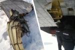Vận tải cơ vỡ cửa khoang hàng khi đang bay, rơi gần hết 9 tấn vàng