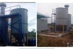 Hệ thống xử lý chất thải lỏng của Viện Công nghệ môi trường