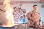 Phẫn nộ nhóm rapper Việt đốt sách học sinh trường Amsterdam để quay MV
