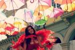 Ảnh: Con đường ô đầy sắc màu tại Bồ Đào Nha