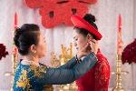 Đủ chiêu át vía mẹ và chồng trong ngày cưới vô cùng hài hước