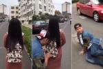Clip hài: Gái xinh cao tay dọa gã móc túi sợ khiếp vía