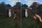 Cười vỡ bụng clip nhiếp ảnh gia múa may quay cuồng trong lúc chụp ảnh cưới
