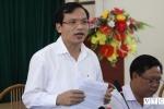 Họp báo chính thức công bố sai phạm chấm thi ở Sơn La