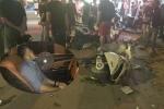 Tài xế ô tô ngậm bóng cười gây tai nạn liên hoàn trên phố: Công an Hải Phòng lên tiếng