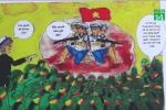 Học sinh lớp 8 vẽ truyện tranh lịch sử về Gạc Ma lay động triệu trái tim