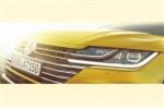 Volkswagen Arteon phiên bản mới lộ teaser tuyệt đẹp