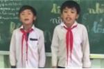 Clip: 2 học sinh cấp 1 đọc rap tặng cô giáo nhanh như máy khiến dân mạng choáng váng