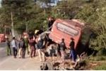 Xe khách va chạm xe tải trên đường Hồ Chí Minh, 5 hành khách thương vong