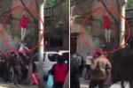 Clip: Giải cứu cô gái đòi treo cổ lên cây tự tử