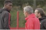 Lý do Mourinho và Pogba giận nhau trên sân tập