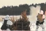 Xem lính Nga xả đạn, phóng tên lửa trong môi trường lạnh giá