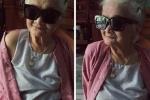 Bà ngoại 82 tuổi tay bó bột vẫn chụp ảnh tự sướng làm náo loạn mạng xã hội