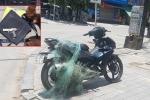 Bắn lưới vây bắt nam thanh niên vi phạm giao thông mang theo súng