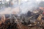 Ảnh: Hiện trường tan hoang sau vụ cháy khủng khiếp thiêu rụi siêu thị Thành Đô ở Hà Nội